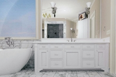 Inset Bathroom Cabinetry